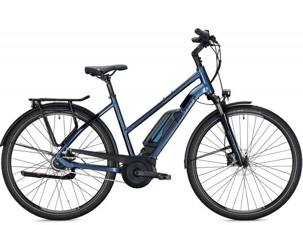 Falter E 9.0 RT 500Wh Trapez E-Bike 2020, Blau