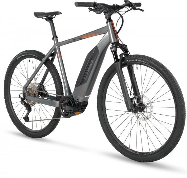 Stevens E-8X Gent E-Bike 2021, Meteor Grau