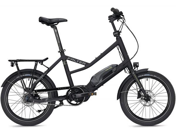 Falter E Compact 1.0 E-Bike 2020, Schwarz